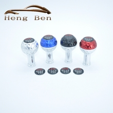 HB Car styling Gear Shift Knob Car Shift Lever Universal Manual Transmission GTI 6-speed 5-speed(China)