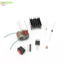 DIY Kit DC High Voltage Generator Inverter Electric Ignitor 15KV 18650 Battery 828 Promotion(China)