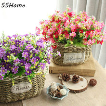 Jump Orchid Chrysanthemum Artificial Flowers Silk Flower Artificial Flowers Dried Flowers Home Decoration Small Cuihua rich Chry