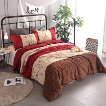 Flowers Printing Bedding Set Comforter Bedding Sets Bedclothes Bed Linen Single Full Queen King Home & Living Pillowcases(China)