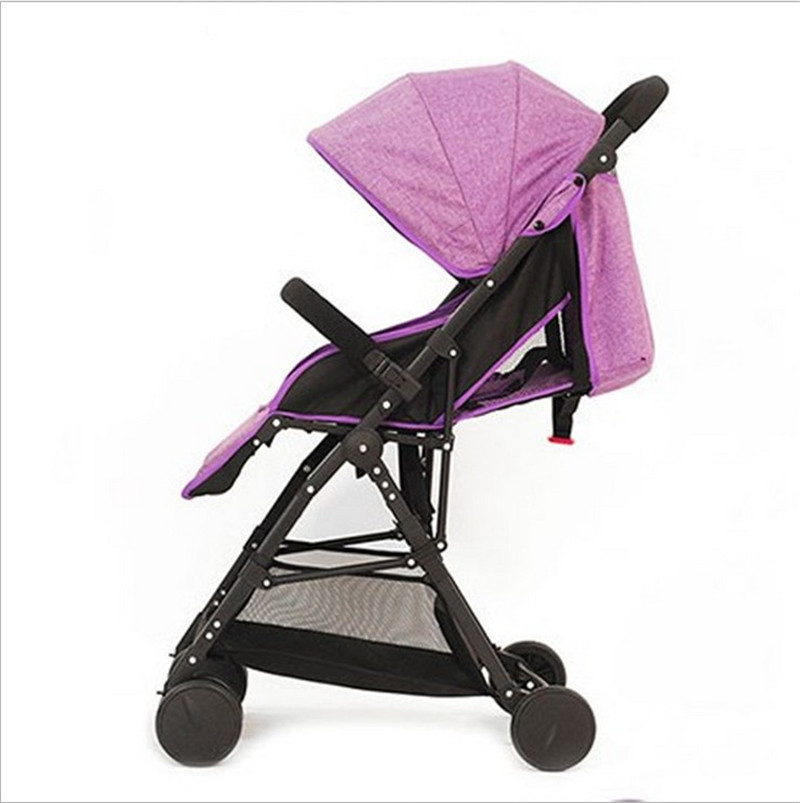 3 in 1 Bebe Umbrella Car High Landscape Ultra-light Baby Stroller Folding Baby Girl&Boy Carriage 0-3 Years Old Purple,Red,Blue.16