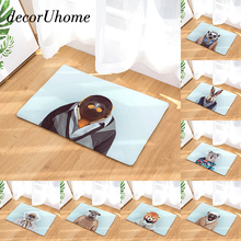 decorUhome Anti-Slip Waterproof Floor Mat Koala Rabbit Monkey Kitchen Rug Bedroom Carpet Decorative Stair Mats Home Decor Crafts(China)