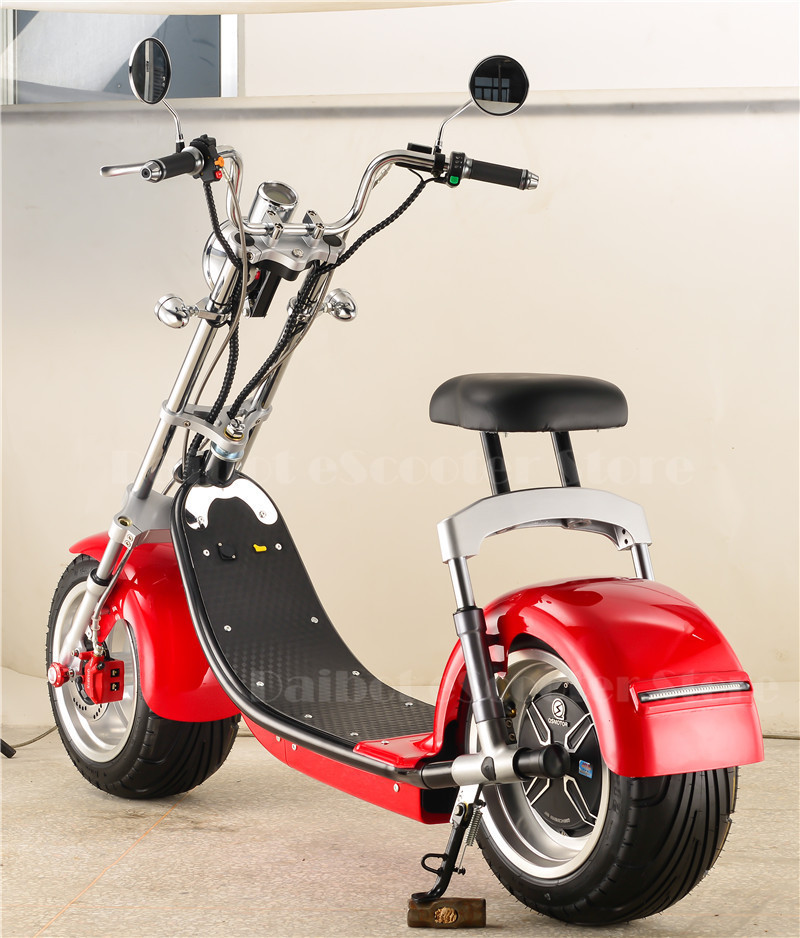Daibot Electric Scooter Harley Citycoco Two Wheels Electric Scooter 60V 1500W Electric Scooter Motorcycle For Adults (3)