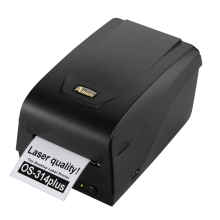 Argox OS-314Plus label printer machine 300dpi transfer barcode printer for jerelry tag, washing label,shipping mark printing