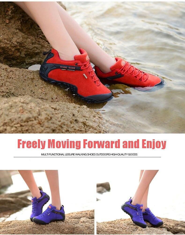 XIANG GUAN Winter Shoe Mens Sport Running Shoes Warm Outdoor Women Sneakers High Quality Zapatillas Waterproof Shoe81285 17