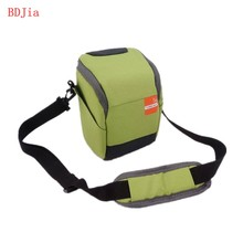 New Green Digital Camera Bag Case for Sony A6500 A6300 A6000 A5100 A5000 NEX-5T 5R 5N NEX-F3 NEX-7 With Strap and Rain cover(China)