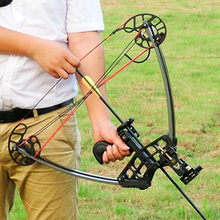 1 Package High Quality Powerful Triangle Compound Bow 50 lbs Smart and Light to Carry Strong Sturdy For Outdoors Shooting(China)