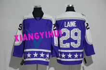 Free shipping 2017 High Quality New Style Alles hot starly Ice Hockey Jerseys LAINE #29
