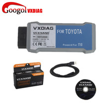 VXDIAG VCX NANO for TOYOTA TIS Techstream V10.30.029 Compatible with SAE J2534 VXDIAG for TOYOTA Techstream Scan Tool