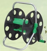 Portable hose reel cart for 45M 1/2''garden hose(China)