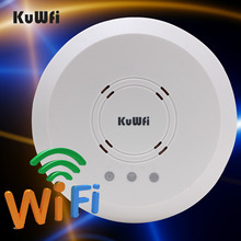 300Mbps 1000mW WIFI Repeater WIFI Extender POE Ceiling-Mounted AP Router With Access Point Controller System Indoor For hotel