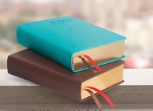 Believe notebook stationery bible book thickening leather diary notepad(China)