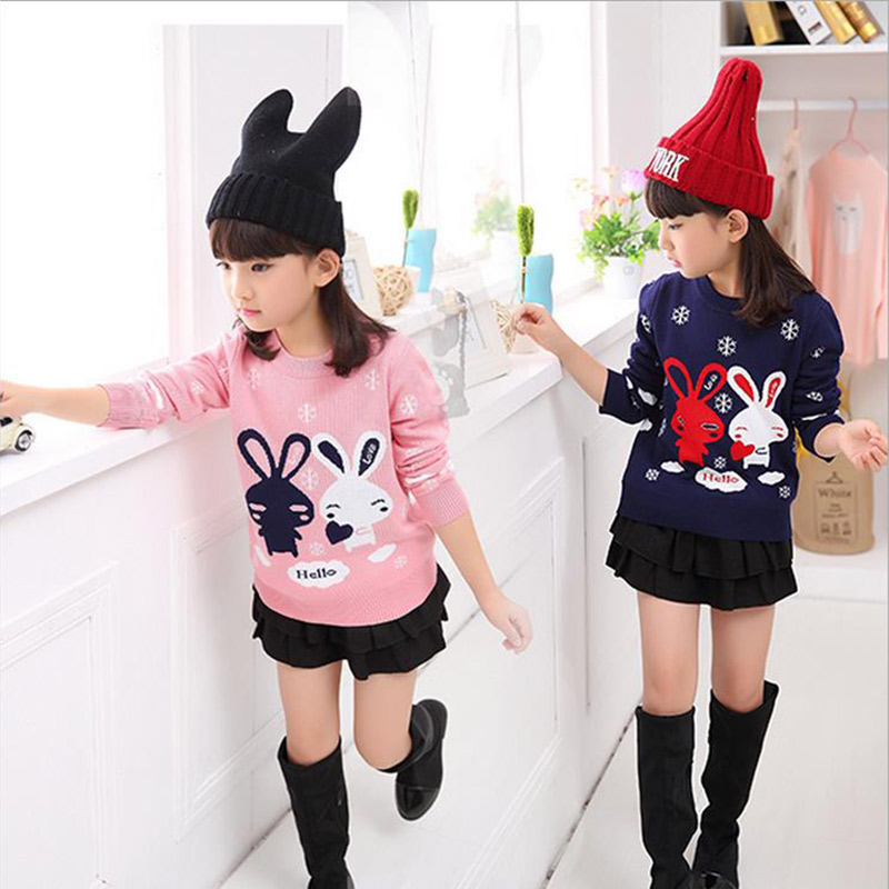 new childrens clothing Girls sweater hedging Autumn 2017 new children sweater girls sweater coat primer shirt kids clothing<br><br>Aliexpress