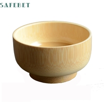 2017My House All Natural and Organic Baby Bamboo Suction Stay put Bowl Hot Sell 17M24(China)
