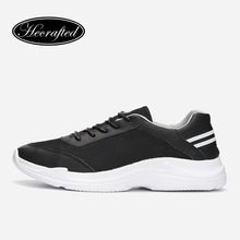 Plus Size merk Mannen sneakers mode Ademende zomer mannen casual schoenen # H2688(China)