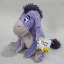 Free shipping 1pcs 25cm winnie friend donkey Eeyore plush toys for children cartoon action figure plush dolls birthday gift