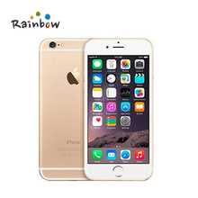 "Original Apple iPhone 6 Mobile Phone 16GB/64GB 4.7"" IPS IOS Dual Core 8MP 1080P WIFI 4G LTE Cell Phone(China)"