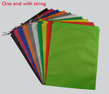 50pcs drawstring closure non woven bag, sample storage bag for shoe / clothes dust proof