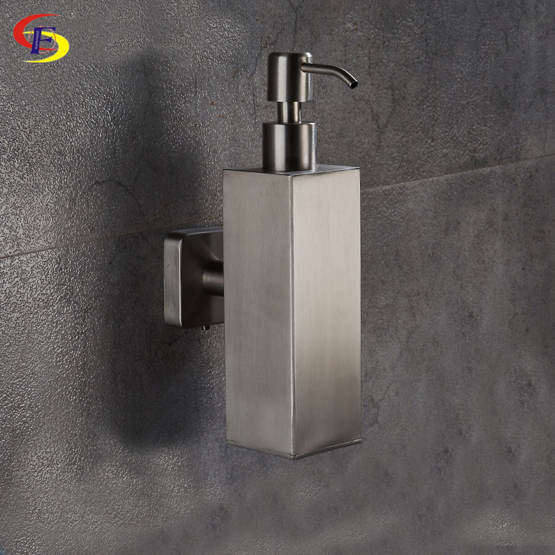 200ml Stainless Steel Liquid Soap Dispenser Kitchen Bathroom Lotion Pump Bottle Multifunction Sink Detergent Product  -  Wenzhou ANJU Sanitary Store store