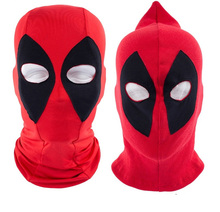 spring 2016 fashion Deadpool boy Children cap Cartoon Comic Beanies Brands Balaclava X-Men boy girl Kids cap Halloween Cosplay
