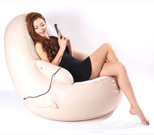 Luxury Multifunctional Electric Massage Chair, Thickened Inflatable Sofa, Designer Furniture, Powerful Home Massage Armchair(China)
