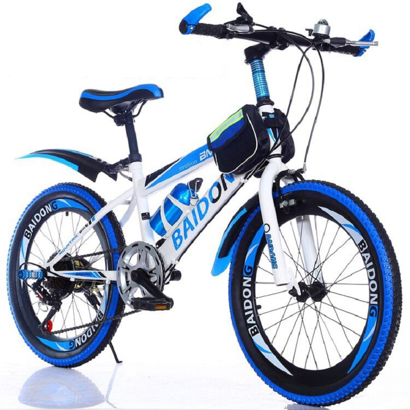 Mountain Bike 20 inch 22 inch children mountain bike student variable-speed bicycle title=