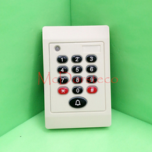 Hot sale Rfid Card Keypad + Password Slave Readerwaterproof IP65 125KHZ Weigand ID EM proximity card reader Wiegand 26bit