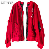 Zipipiyf-2017-autumn-winter-zipper-women-Baseball-jacket-black-red-Women-casual-Fashion-Coats-Outwears.jpg_200x200