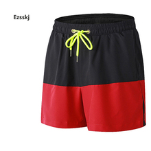 Outdoor Men Sports elastic Shorts Boys summer light Waterproof beach boardshorts breathable Running basketball fitness shorts