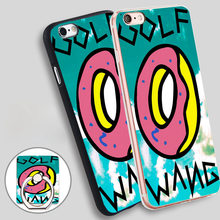 New Golf Wang Odd Future Love Phone Ring Holder Soft TPU Silicon Case Cover for iPhone 5 SE 5S 6 6S 7 Plus