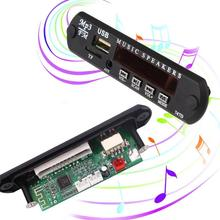 MVPower Car Vehicles Auto MP3 Music Decoder 4 Keys Module FM Radio USB Interface Black Hot(China)
