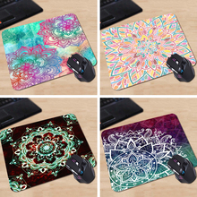 Babaite Babaite Pink Floral Green Funny 180X220X2MM 250X290X2MM Rectangle Mouse Pad Mat Gaming Mouse pad