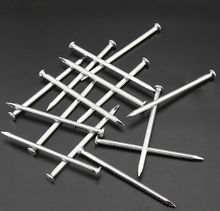 flat head Concrete nails Hardened Fluted Tiling High Strength Concrete Steel Nails(China)
