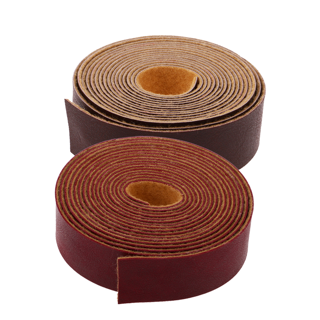 10 Meters x 2cm PU Leather Strap Strips Leather Craft Belt Bag Handle DIY Crafts