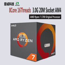 Buy AMD Ryzen 7 1700 CPU Processor 8Core 16Threads AM4 3.0GHz TDP 65W 20MB Cache Desktop for $286.99 in AliExpress store