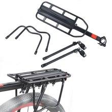 MTB Bike Bicycle Cargo Racks Cycling Quick Detachable Rear Shelf Aluminum alloy Black Mountain Bike Equipment Accessories