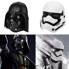 Star Wars Stormtrooper Helmet LED Gleamy Warrior Soldier Darth Vader Mask Halloween Cosplay Full Face Party Masks Kids Toys Gift