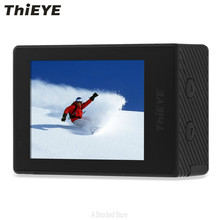 ThiEYE T5e  Sports Action Camera  WiFi 4K 30fps 1080P HD 12MP Builtin 2 inch TFT LCD Screen Time-Lapse Videos Ambarella A12LS75