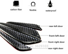 Buy 4PCS Car door protection carbon fiber scratch rubber stickers car-styling Lexus rx350 rx gs is250 gs300 rx300 nx rx330 gx470 for $8.08 in AliExpress store