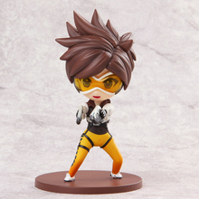Love Thank You OW Over game watch Overwatches Tracer cute figure toy Collectibles Model gift doll 12CM