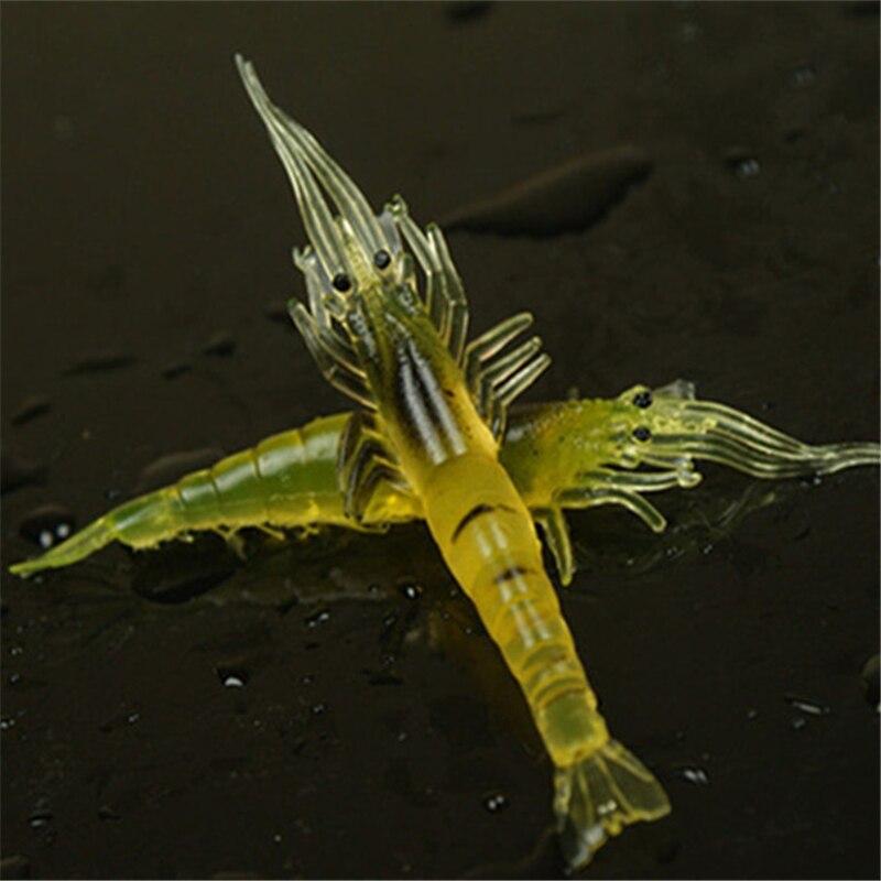 High artificial bait shrimp soft lure 10cm 4g bionic bait fishing lure to be bait  20 pcs<br><br>Aliexpress