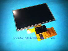 "Original 5"" inch LCD screen for A050FW02 V2 V.2 GPS LCD display screen with touch screen digitizer panel Repair replacement"