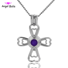 Angel Bola Jewelry Yoga Aromatherapy Essential Oils Surgical Perfume Diffuser Locket Necklace Drop Shipping L157
