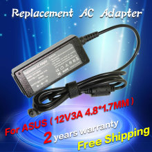 12V 3A 4.8*1.7MM 35W Replacement Universal Notebook For Asus Laptop AC Charger Power Adapter High quality free shipping