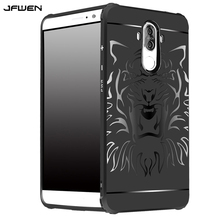 For Funda Huawei Mate 9 Case Cover Silicone Luxury Shockproof Tiger Armor Phone Cases For Capa Huawei Mate 9 Case Back Cover