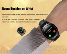 2017 Newest Wearable Devices S5 Smart Watch Support SIM TF Card Electronics Wrist Phone Watch For Android smartphone Smartwatch(China)