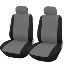 Breathable car front seat covers For Subaru forester Outback Tribeca heritage xv impreza legacy auto accessories styling 3D(China)