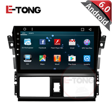 32G+1GRAM 2din For Toyota VIOS 2014 car DVD player Android 4.4.4 system with GPS Navigation Bluetooth 3G USB port Ipod TV SD(China)
