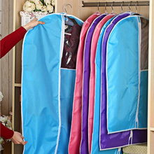 2017 New Fashion Dustproof Protector Bag Clothes Storage Bags for Jacket Suits Garment Cover Coat Dust cover Garment Organizer