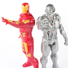 Music Light 2017 New The Avengers 2 Age of Ultron Hulk Thor Captain America Action Figure Toys Gifts For Boy Original Box